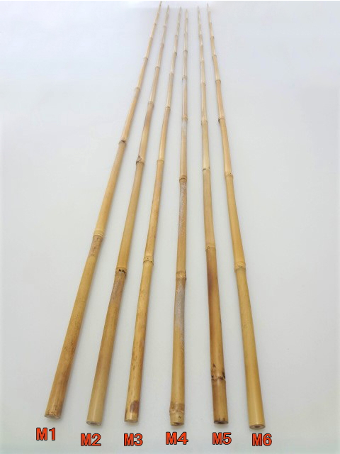 丸節竹MA1〜6|楽しい和竿作りショップ・釣具のkase