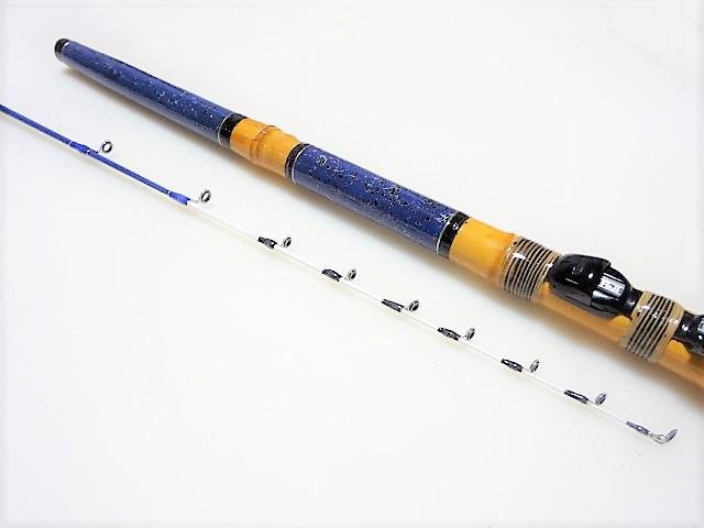 テトラ穴釣り竿|楽しい和竿作りショップ釣具のkase