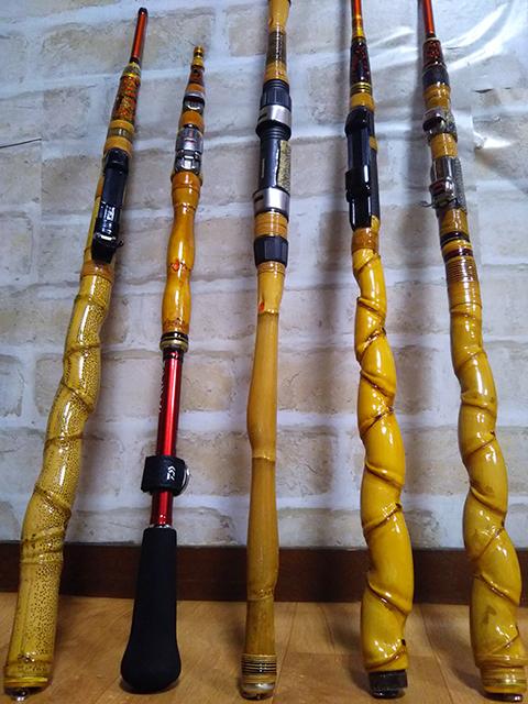 お客様の作品|楽しい和竿作りショップ釣具のkasse