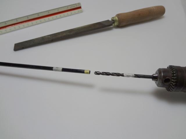 チヌ筏かかり竿の作り方