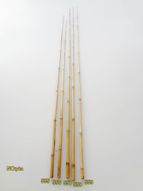 たなご竿用矢竹yta555-559